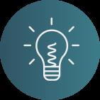 Symbol Glühbirne Idee Rätsel